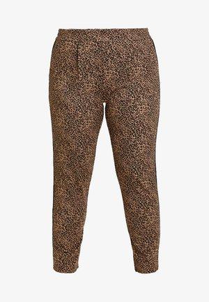 CARGOLDTRASH ANIMAL PANT - Kalhoty - black