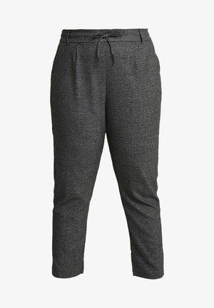 Spodnie materiałowe - black/checks