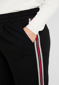 ONLY Carmakoma - CARGOLDTRASH PANEL PANT - Kalhoty - black - 5