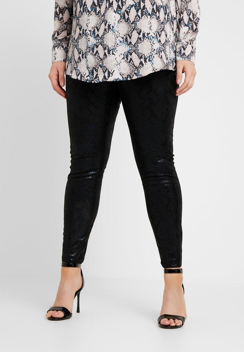 ONLY Carmakoma - CARMADDIE - Legging - black