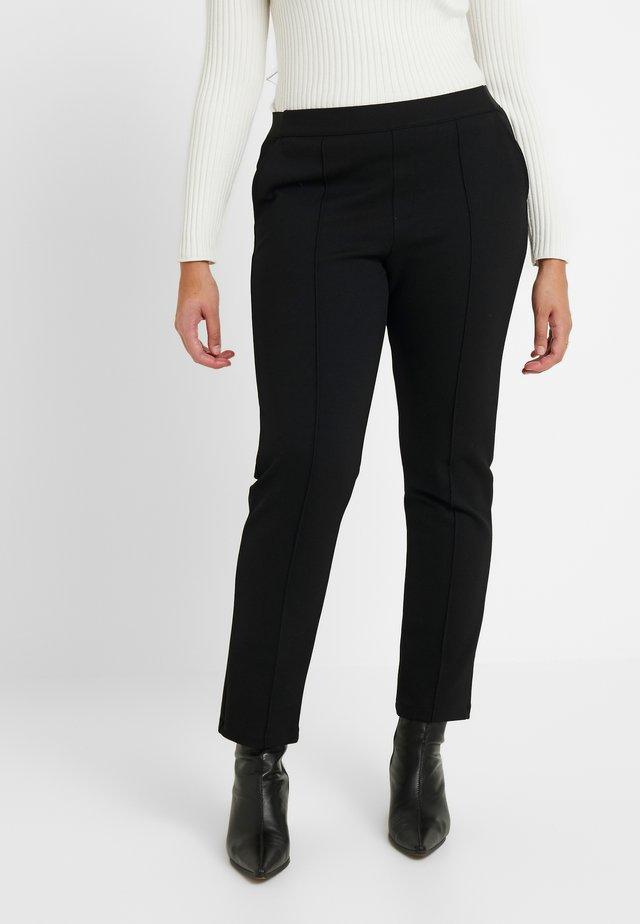 CARCLIPS PANTS - Pantaloni - black
