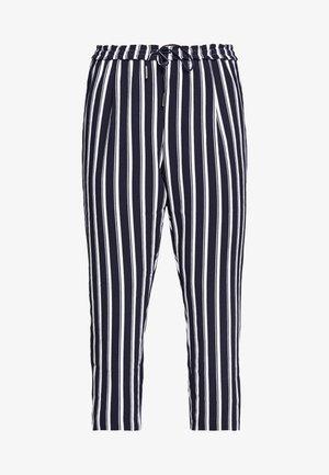 CARCASIA LONG PANTS - Trousers - peacoat