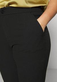 ONLY Carmakoma - CARRIDE PANTS - Spodnie materiałowe - black - 4