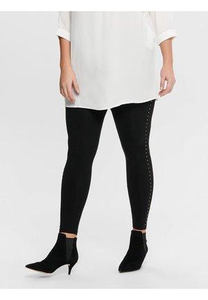 CURVY NIETEN - Leggings - Trousers - black