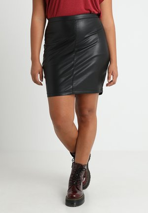 CARSISAL SHORT SKIRT - Gonna a tubino - black
