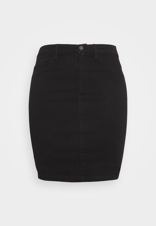CARTHUNDER PENCIL SKIRT - Pencil skirt - black