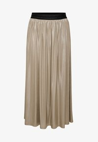 ONLY Carmakoma - FALTEN - Pleated skirt - frosted almond - 4