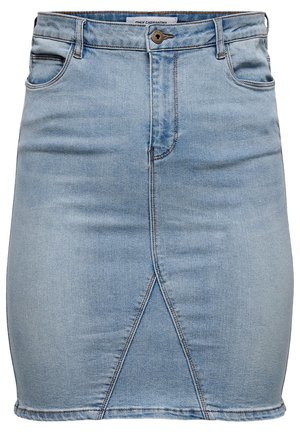 Pencil skirt - light blue denim