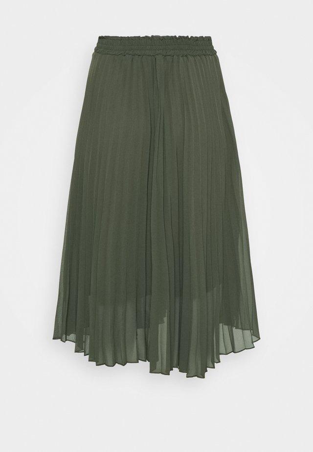 CARNEWSARAH CALF SKIRT - A-line skirt - forest night