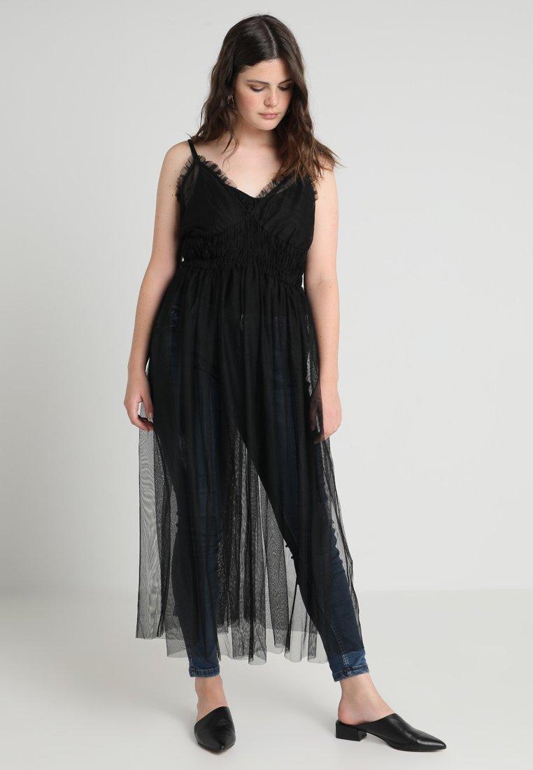 ONLY Carmakoma - CARBERRY LONG DRESS - Robe longue - black