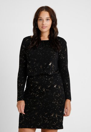 CARNIGHT SKY DRESS - Juhlamekko - black