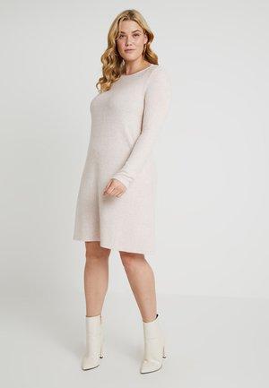 CARINDIA ONECK DRESS - Robe pull - rose dawn