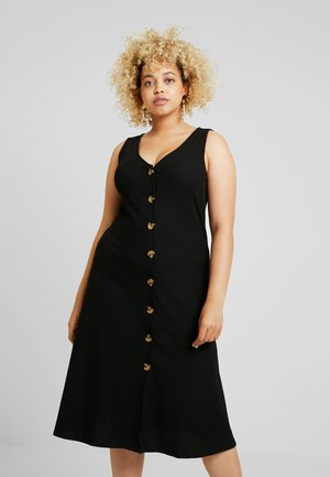 CARKAM KNEE DRESS - Jerseyklänning - black