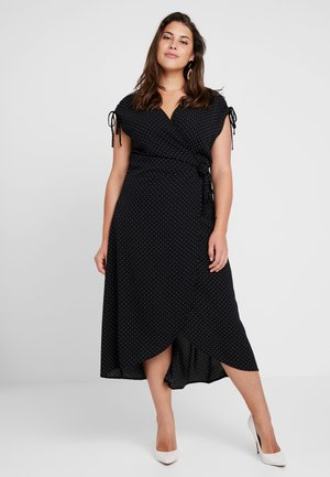 CARTAYLOR DRESS - Maxi šaty - black/white