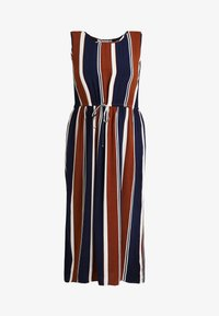 ONLY Carmakoma - CARBAX DRESS - Maxi dress - ginger bread/blue/white - 4