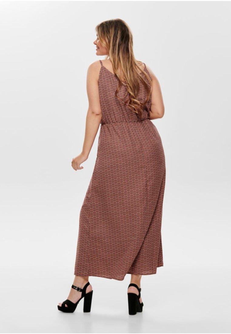 Only Carmakoma Maxi Dress - Arabian Spice