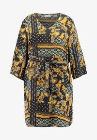 ONLY Carmakoma - CARMAEMALOU  DRESS - Korte jurk - black - 5