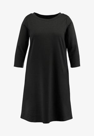 CARTINA KNEE DRESS - Robe en jersey - black