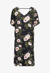 ONLY Carmakoma - CARELISABETE KNEE DRESS - Denní šaty - black - 5