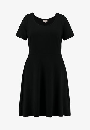 CARFAVORITE KNEE DRESS - Jerseyjurk - black