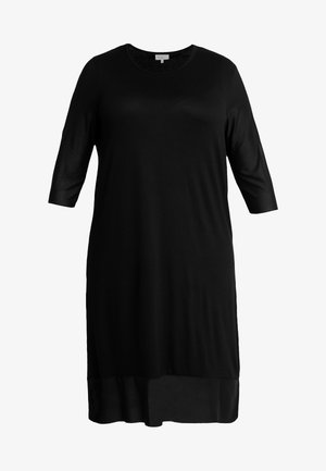 CARSISSEL KNEE DRESS - Trikoomekko - black