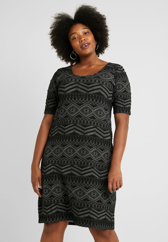 CARMITSA KNEE DRESS - Sukienka z dżerseju - black