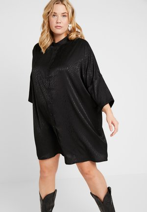 CARLEONORA 3/4 TUNIC DRESS - Paitamekko - black