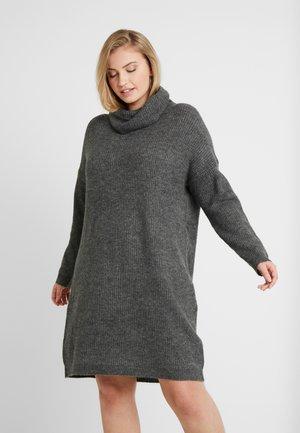 Vestido de punto - dark grey melange