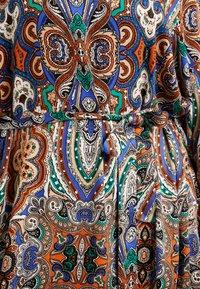 ONLY Carmakoma - CARBOHE CALF DRESS - Korte jurk - orange - 5