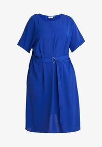 ONLY Carmakoma - CARMALIKKA KNEE DRESS - Day dress - dazzling blue - 5
