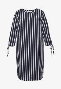 ONLY Carmakoma - CARCASIA KNEE DRESS - Robe d'été - peacoat - 3