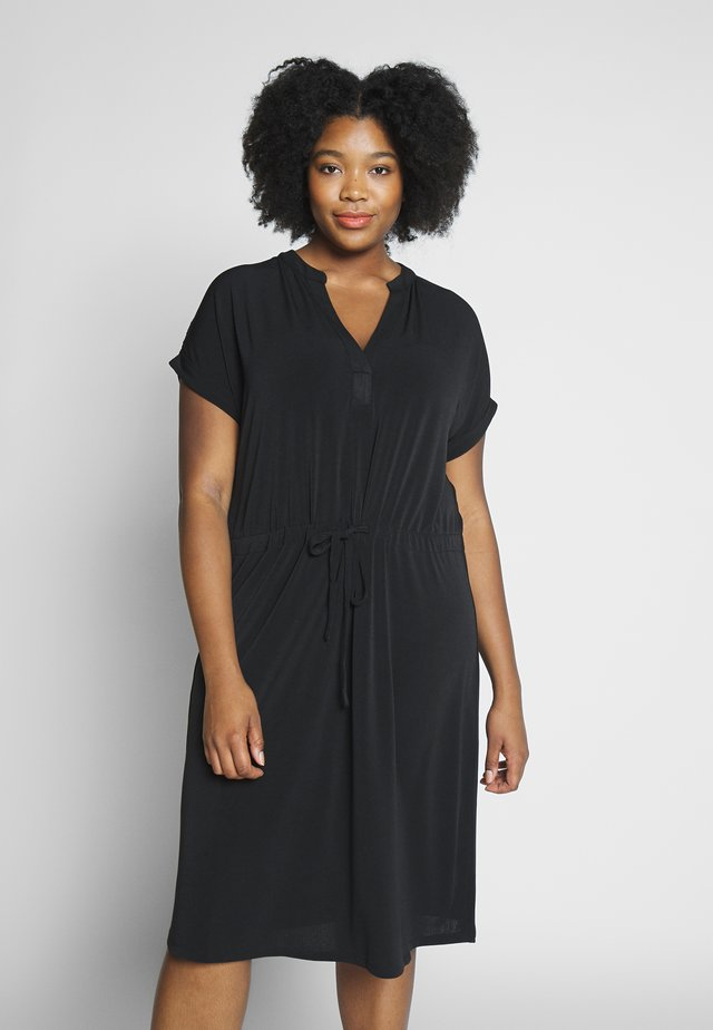 CARBENNEDIKTE DRESS - Korte jurk - black