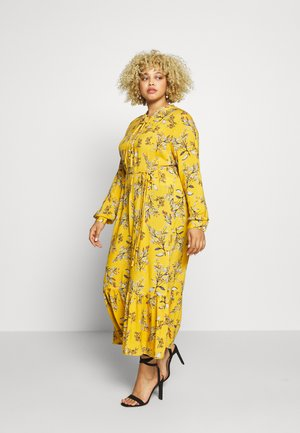 CARSPRINGI CALF DRESS - Robe chemise - golden apricot