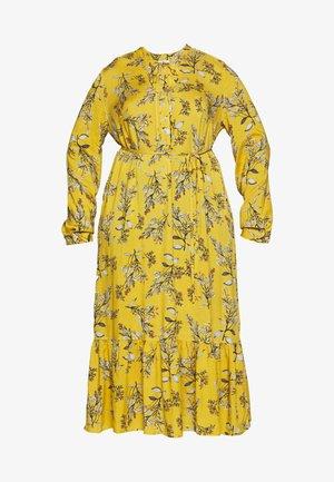 CARSPRINGI CALF DRESS - Shirt dress - golden apricot
