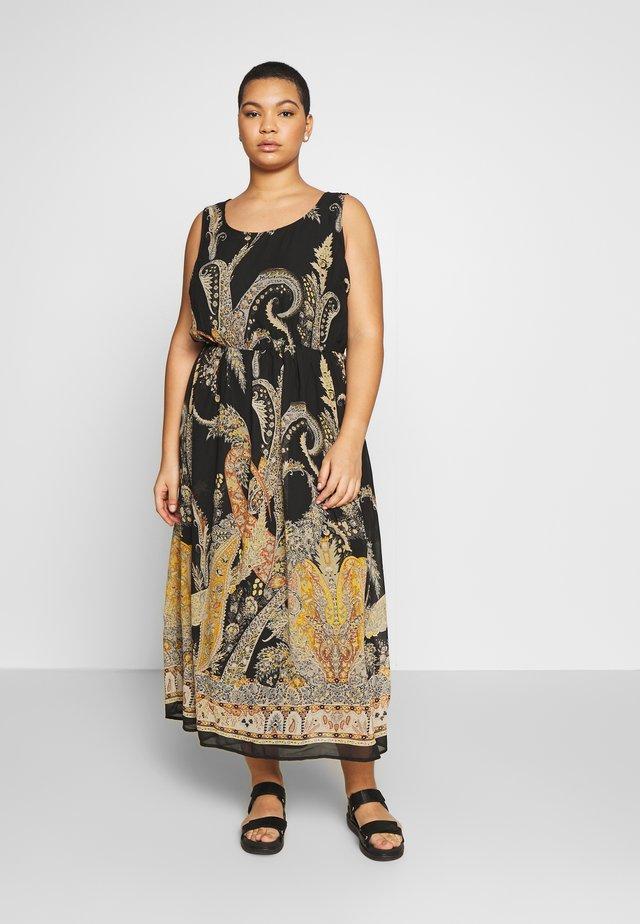 CARBOA DRESS - Maxi šaty - black/borderline