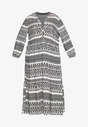 CARMARRAKESH CALF DRESS - Robe longue - black/cloud dancer