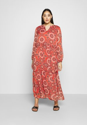 CARTRUST DRESS - Maxi dress - hot sauce/triple trust