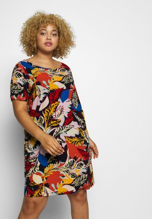 CARLUXLOU DRESS - Day dress - night sky bloom