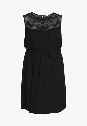 CARVIVIAN KNEE DRESS - Robe d'été - black