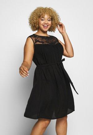 CARVIVIAN KNEE DRESS - Day dress - black
