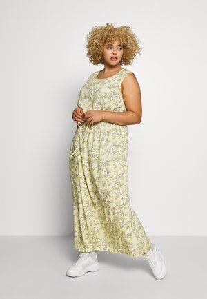 CARBLOOM LIFE MAXI DRESS - Maxi dress - pineapple slice/bloom