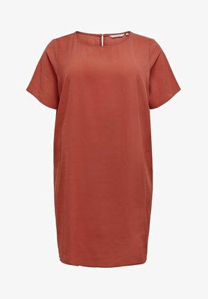 CURVY  - Day dress - light red