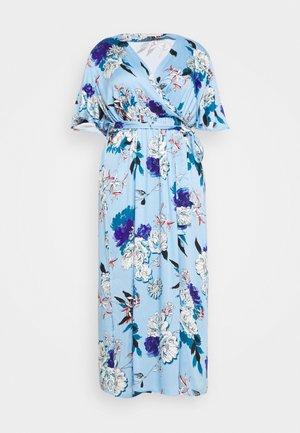 CARFLONE 2/4 BAT SLEEVE MAXI DRESS - Sukienka koktajlowa - placid blue