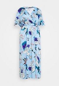 ONLY Carmakoma - CARFLONE BAT SLEEVE DRESS - Maxi šaty - placid blue - 3