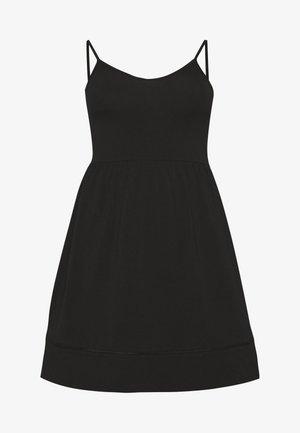 CARKALLON LIFE KNEE DRESS - Žerzejové šaty - black