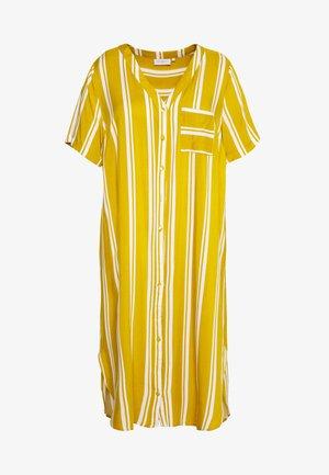 CARDENIZIA SHIRT DRESS - Korte jurk - golden spice/cloud dancer