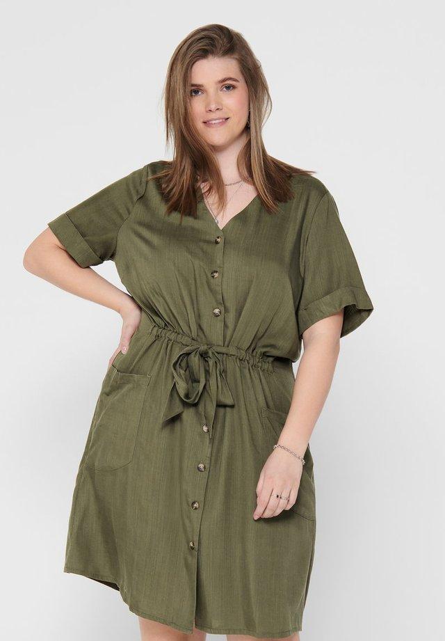CURVY  - Shirt dress - kalamata
