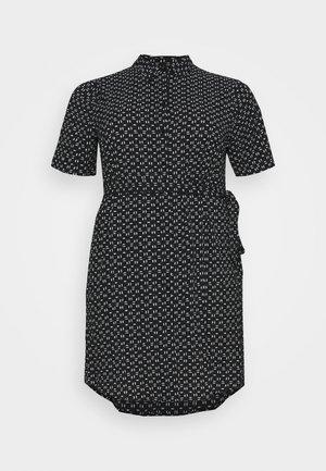 CARLILA DRESS - Robe chemise - black/white