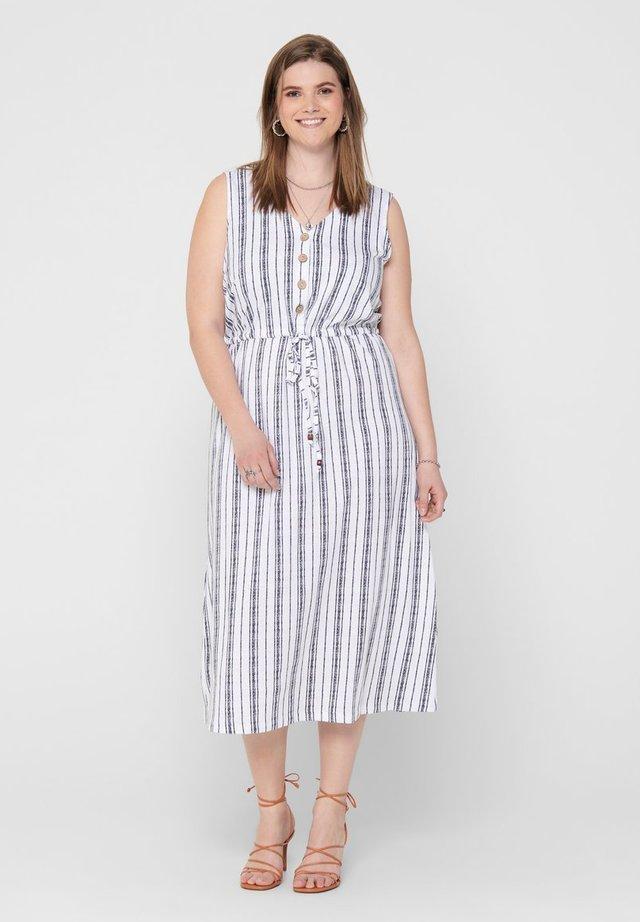 CURVY - Shirt dress - bright white