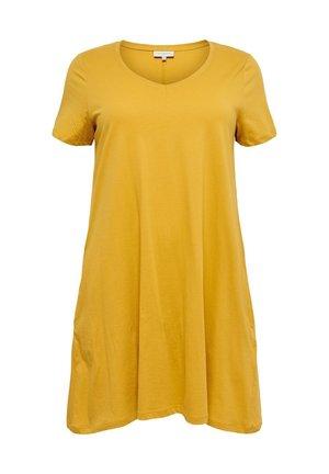 Day dress - golden spice